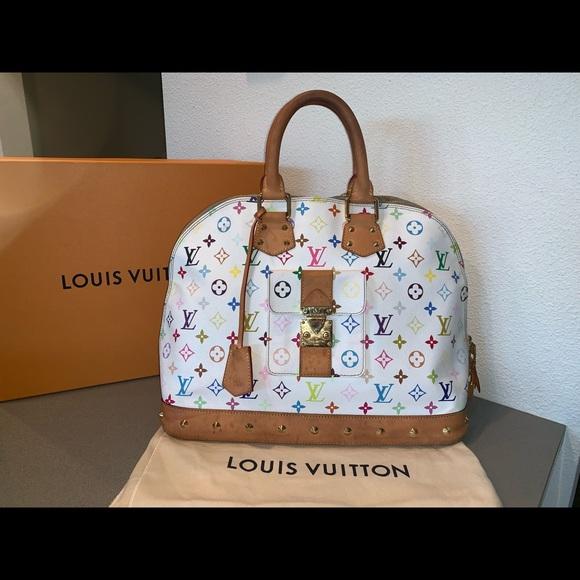 Louis Vuitton Handbags - Authentic Louis Vuitton multicolor alma GM travel
